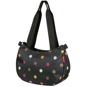 KlickFix Stylebag Bike Pannier Dots black/colourful